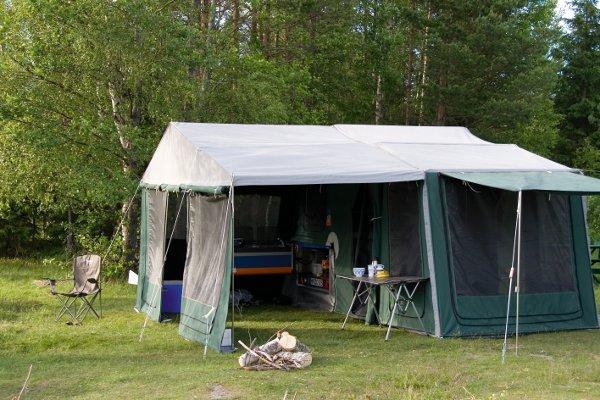 3DOG camping Faltcaravan