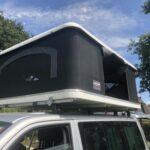 Dachzelt Aufgebaut